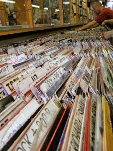 dischi negozio vinile